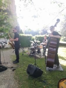 Groupe Jazz Cocktail Mariage Genève château de Penthes